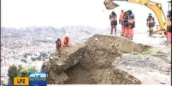 Nuevo deslizamiento en La Paz, hay una persona desaparecida