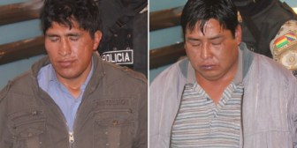 """Gobierno presenta a """"Matón"""" y """"Botija"""" pero no explica su vínculo con muerte de periodistas"""