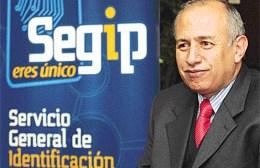 """Antonio Costas.Director Nacional del Segip: """"Trabajamos para entregar la plata a la Policía"""""""