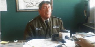 Autor de quema a vehículo policial fue enviado a la cárcel