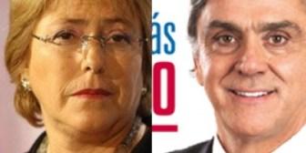 Bachelet y Longueira se imponen en las primarias chilenas