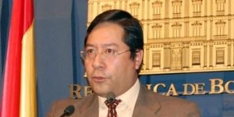 Arce aclara que no aspira a la vicepresidencia