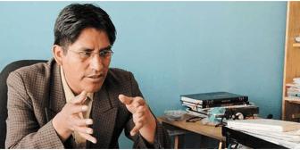 Patzi: un indígena letrado sustituirá a Evo el 2019