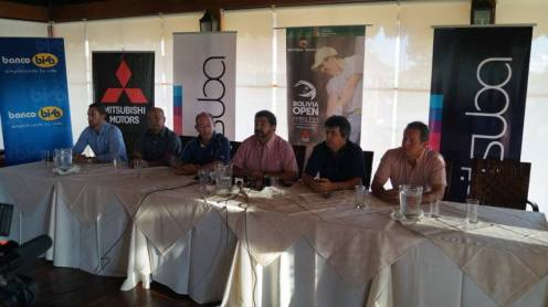Conferencia de prensa con Ramón Carrion (Urubo Golf) y Marcos Nakada (Mitsuba)