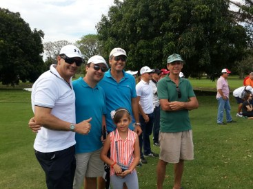 Chico Marchetti, Samuel Moreno, Miguel Navarro (Banco Bisa), Tigre Da Silva