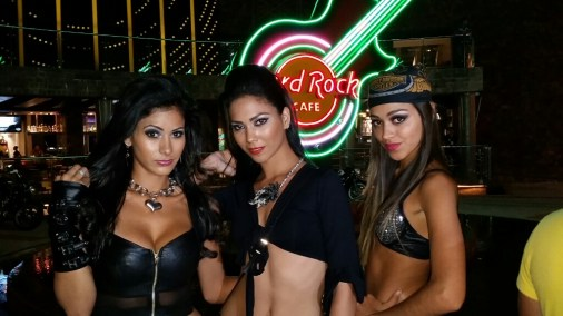 Madelin Vivero, Raquel Velarde, Nathalia Oyola