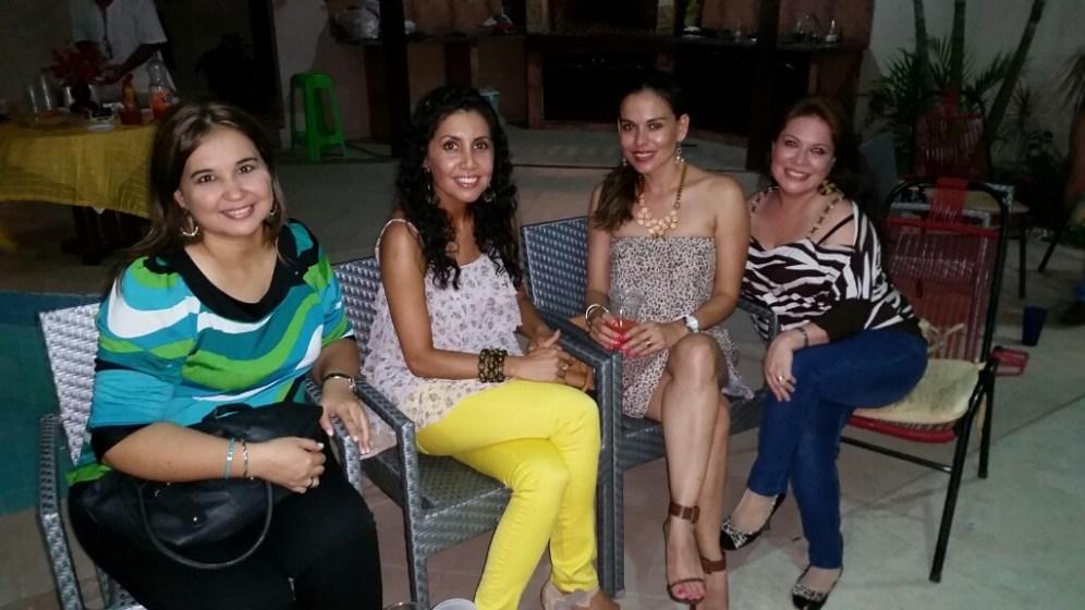 Liliana Antelo, Erika Orellana, Marcia Capobianco, Luciana Dávila