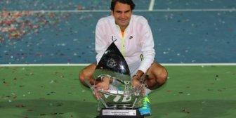 Roger Federer superó a Novak Djokovic y logró su séptimo título en Dubái