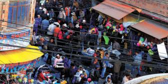 Venta ilegal de armas de fuego en La Paz; en el 'barrio chino' y feria 16 de Julio
