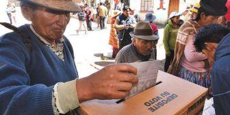 Los resultados parciales del referéndum mantienen la tendencia del No a los estatutos en cinco departamentos
