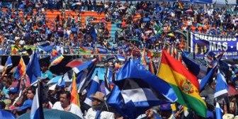 Repostulación. Sectores afines al MAS socializarán referéndum constitucional y definirán estrategia de campaña