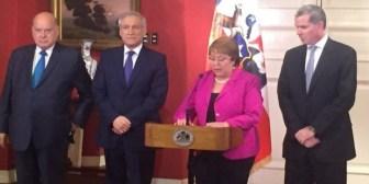 Bulnes renuncia e Insulza asume como agente chileno ante La Haya