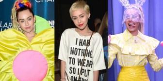 Los 5 looks más controversiales de Miley Cyrus