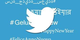Twitter: si escribes Feliz Año Nuevo en 35 idiomas lindo emoji aparece