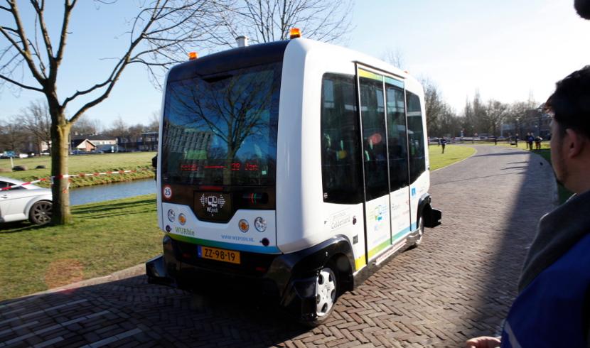 WEpod WEpod, el primer autobús eléctrico y autónomo del mundo