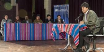 Morales plantea aumentar 50 bolivianos en productos a la Renta Dignidad