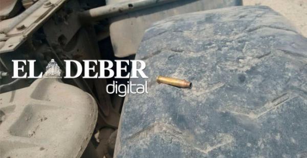 Los transportistas argumentaron que tienen pruebas del crimen como casquillos de proyectiles disparados