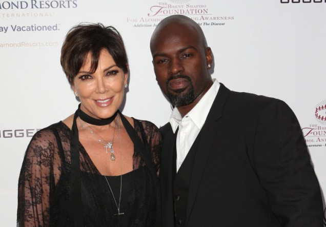 Kris Jenner and boyfriend Corey Gamble arrive at the 10th Annual Brent Shapiro Foundation's Summer Spectacular held at a Private Residence in Beverly Hills, Los Angeles Pictured: Kris Jenner, Corey Gamble Ref: SPL1124524 120915 Picture by: Image Press / Splash News Splash News and Pictures Los Angeles: 310-821-2666 New York: 212-619-2666 London: 870-934-2666 photodesk@splashnews.com