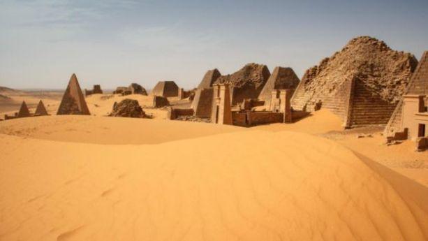 Pirámides de Sudán
