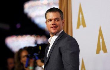Matt Damon, protagonista de The Martian. Gran candidato a ganar la estatuilla. El actor había tenido una desafortunada frase respecto a la diversidad racial en Hollywood