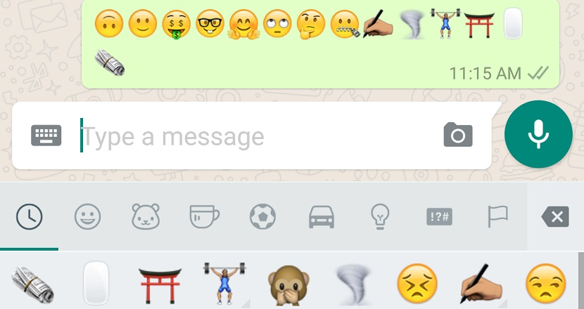 WhatsApp 1 WhatsApp para Android se actualiza incorporando 74 nuevos emojis
