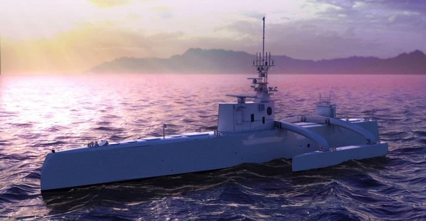 darpa DARPA ya tiene listo el primer barco robot autónomo el mundo