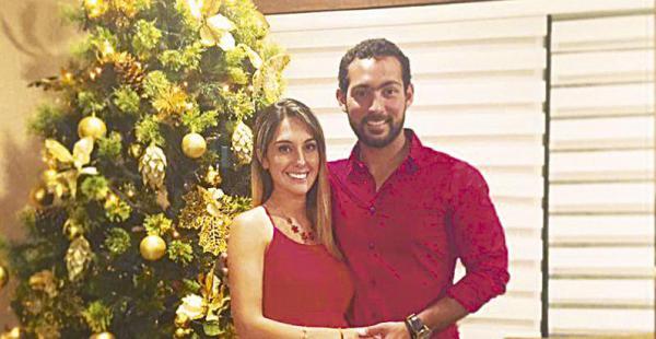 /Paula Ibáñez Y Joaquín Aspiazu. la actriz de chaplin y el ciclista esperan a su primogénito para julio o agosto