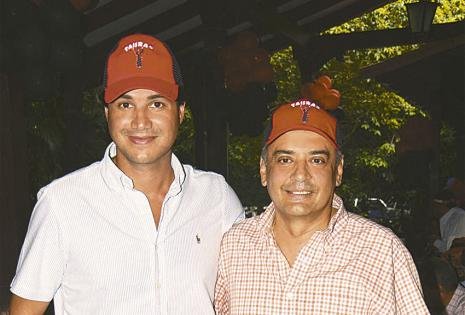 Fundadores. Hugo Sosa y Otto León, dos Tauras  de corazón