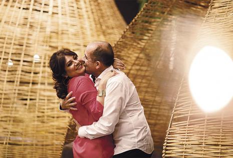 Fabio Zambrana y Fabiola Bruno