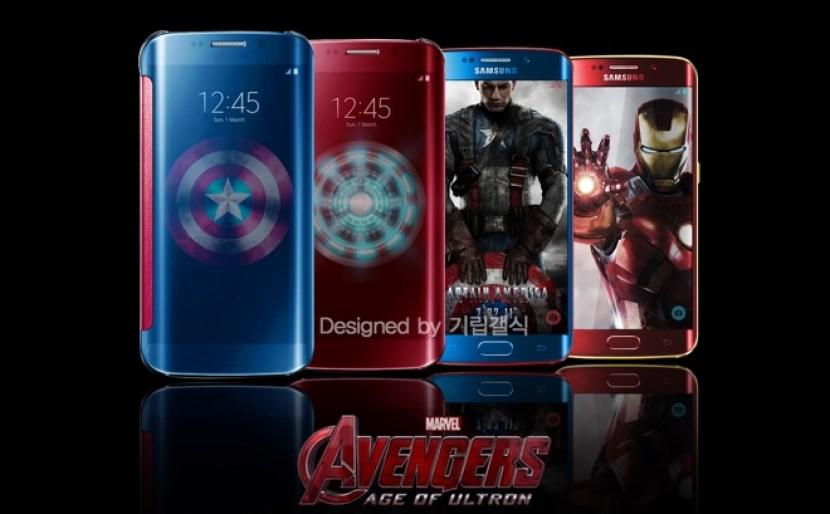 ironman s6 El Galaxy S7 Edge tendrá una versión Batman v Superman
