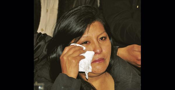 La alcaldesa de El Alto, Soledad Chapetón, dijo que es un día muy triste para la ciudad