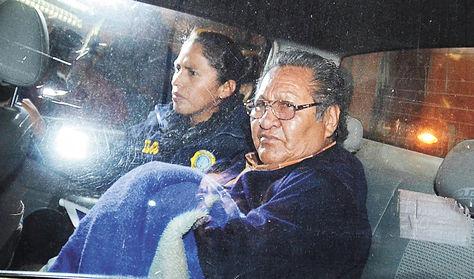 Proceso. Rocha declaró anoche ante la fiscal Susana Boyán.