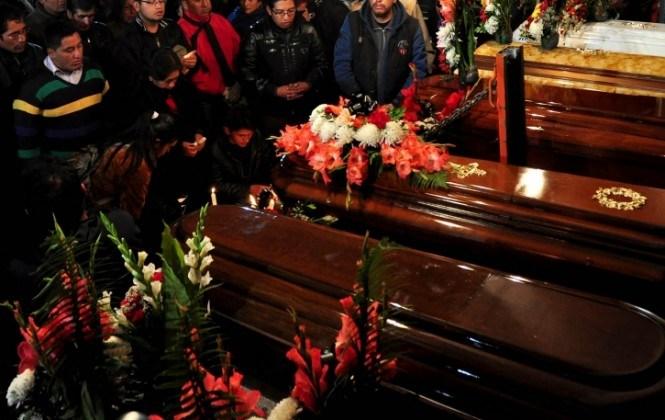 """Familia primero perdió un nieto en """"Octubre Negro"""" y ahora un hijo en la """"tragedia de febrero"""""""