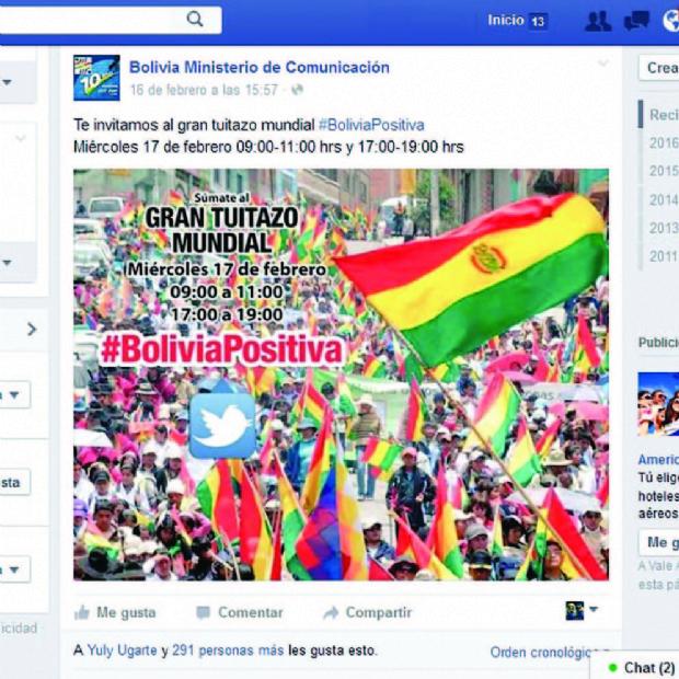 Pese al silencio, campaña en redes sociales no se detiene