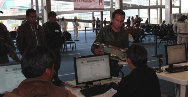 El cómputo oficial en Bolivia está a punto de concluir