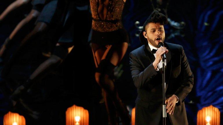 The Weeknd cantó la canción de 50 Sombras de Grey
