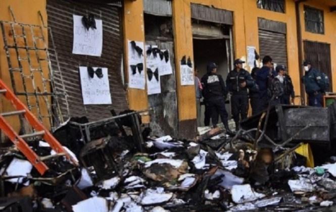 El Alto: 90% de documentación jurídica se perdió y existirán demoras en el pago a empresas