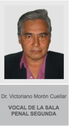 Dr. Victoriano Morón Cuellar