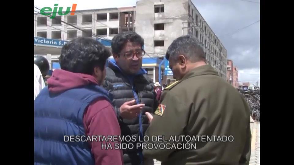 """Video del viceministro Elío y la mentira del """"auto atentado"""""""