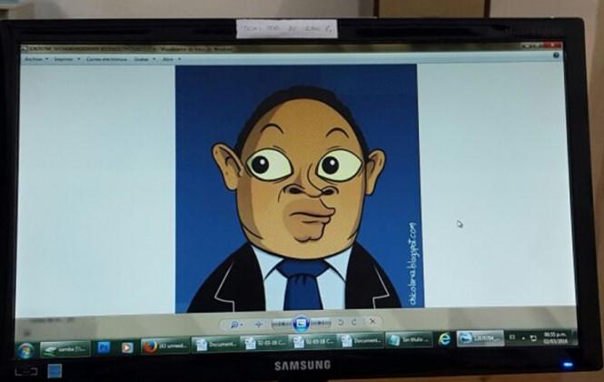 Joaquín Cuevas dice sentirse ''sutilmente amedrentado'' por el Gobierno a causa de una caricatura del ministro Romero