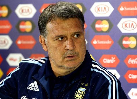 Gerardo Martino, seleccionador nacional de Argentina. Foto: Internet
