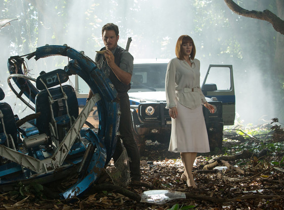 Jurassic World, Bryce Dallas Howard, Chris Pratt