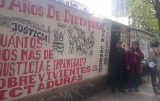 Víctimas de la dictadura cumplen cuatro años de vigilia, sin solución a la vista