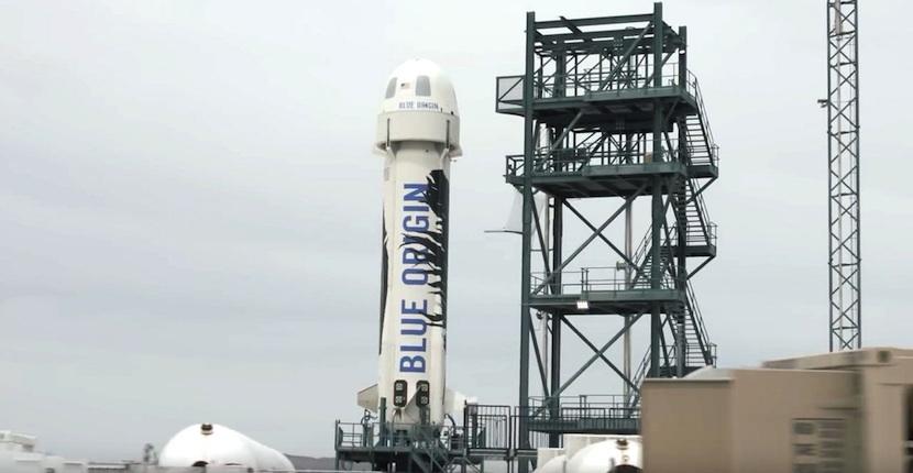 blue Blue Origin enviará humanos al espacio en 2017