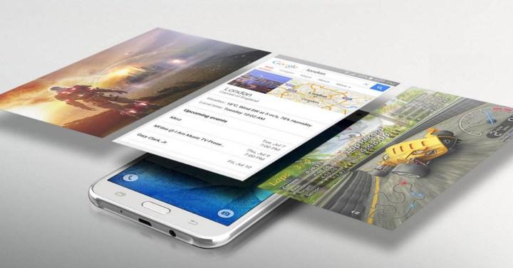 Samsung Galaxy J7 TouchWiz