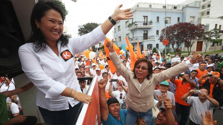 Keiko Fujimori, principal candidata en las elecciones de Perú