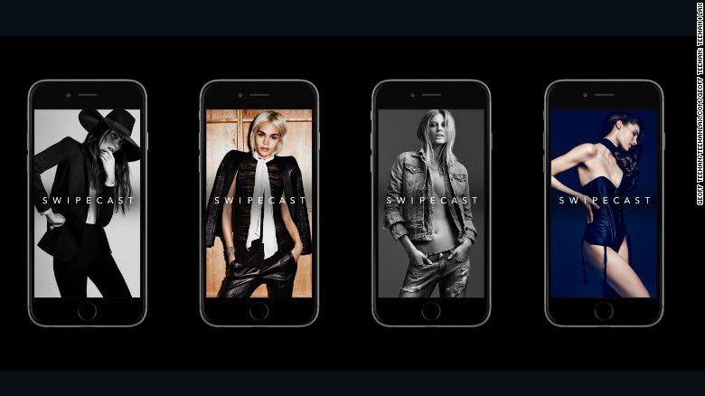 Fundada por Peter Fitzpatrick, Swipecast es una aplicación que pone a las modelos directamente en contacto con las marcas.