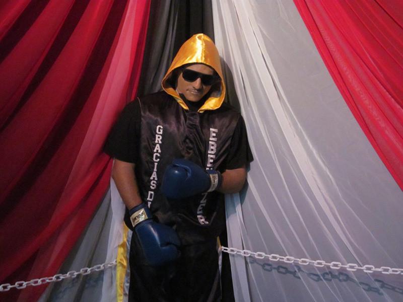 Boxeador muerto, 2014