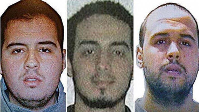 Los hermanos Khalid y Brahim El Bakraoui, y Najim Laachraoui, los terroristas que habrían atentado en el aeropuerto de Bruselas