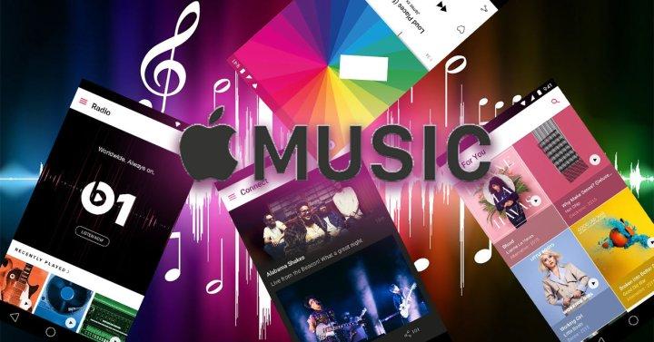 Logo de Apple Music